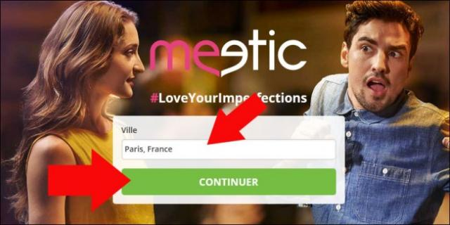 Meetic s inscrire