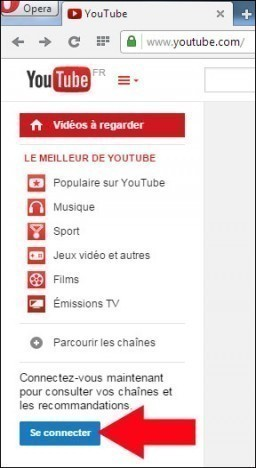 s inscrire sur youtube 1