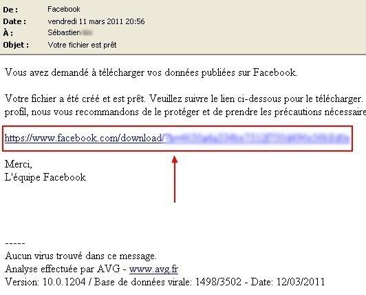 sauvegarder ses donnees de profil facebook 6