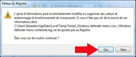 scanner un seul dossier avec windows defender 2
