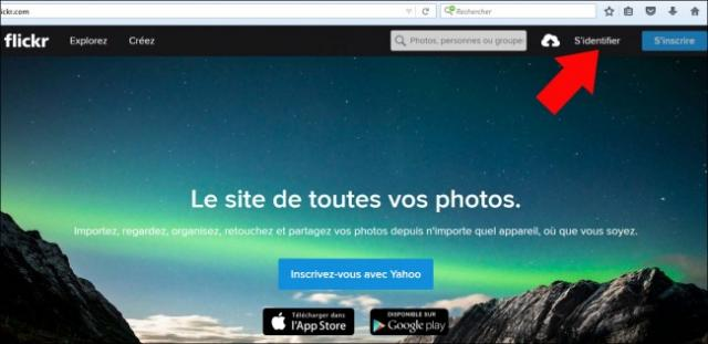 se desinscrire de flickr 1