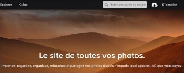 Se désinscrire de Flickr