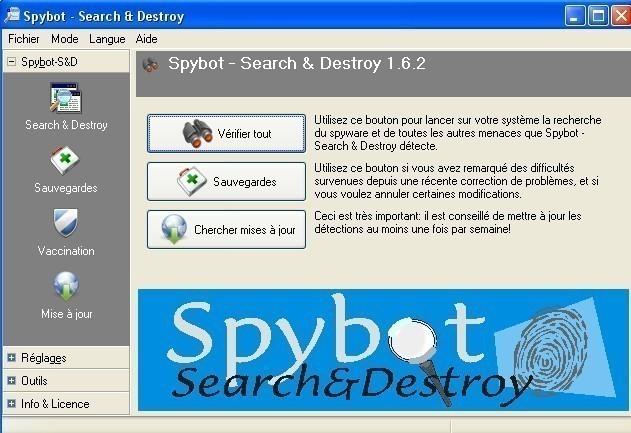 spybot telechargement et installation 0