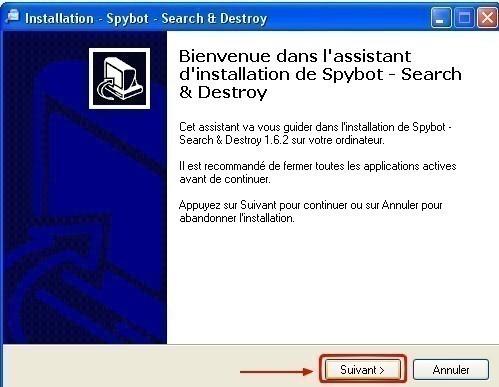 spybot telechargement et installation 6