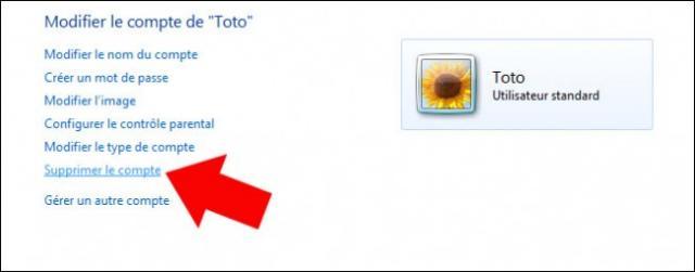 supprimer un compte utilisateur windows 7 4