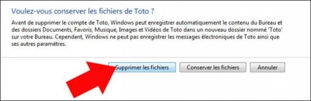 supprimer un compte utilisateur windows 7 5