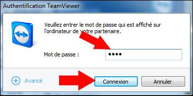 teamviewer et log me in 3