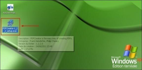 telechargement et installation de pdfcreator 2