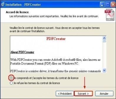 telechargement et installation de pdfcreator 6