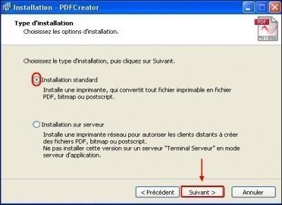 telechargement et installation de pdfcreator 7
