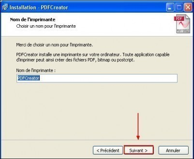 telechargement et installation de pdfcreator 8