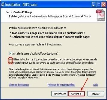telechargement et installation de pdfcreator 10