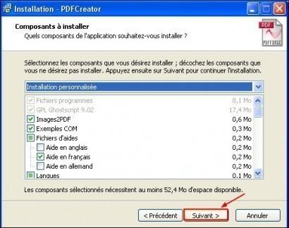 telechargement et installation de pdfcreator 11