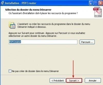 telechargement et installation de pdfcreator 12