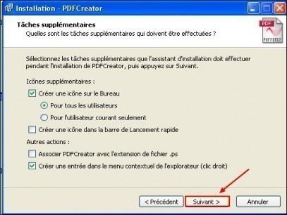 ajouter pdf creator