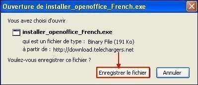 telecharger et installer openoffice 1