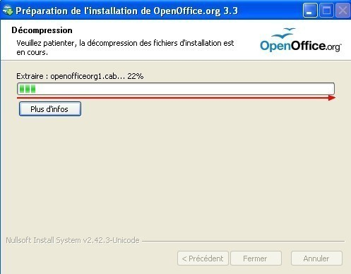telecharger et installer openoffice 10