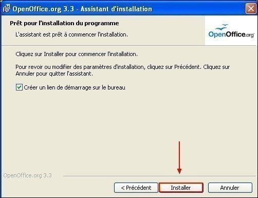 telecharger et installer openoffice 14