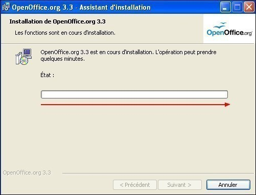 telecharger et installer openoffice 15