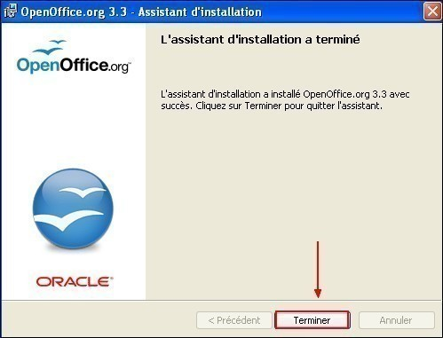 telecharger et installer openoffice 16