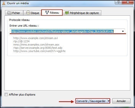 telecharger une video streaming avec vlc 2