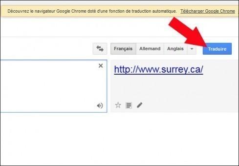 traduire une page web avec google 4