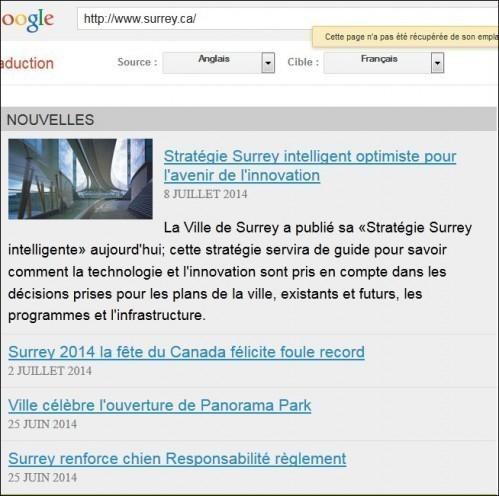 traduire une page web avec google 5