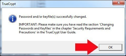 truecrypt modifier le mot de passe de la partition securisee 5