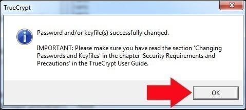 truecrypt modifier le mot de passe de la partition securisee 5