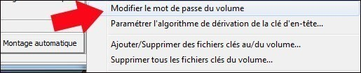 truecrypt modifier le mot de passe de la partition securisee 2