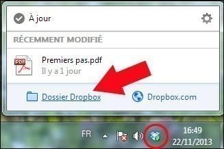 utiliser dropbox 2