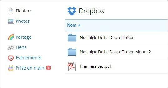 utiliser dropbox 4