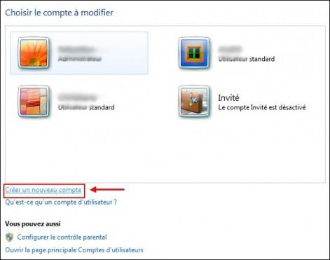 windows 7 creer un compte utilisateur 2