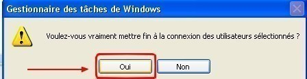windows xp fermer la session d un utilisateur 1