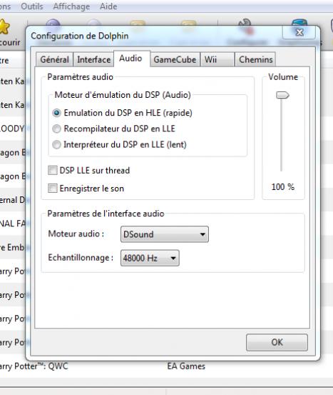 configurer emulateur gamecube et wii dolphin 3 5 6