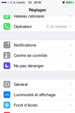 limiter l acces du iphone en activant mode guide 1