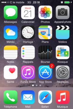 limiter l acces du iphone en activant mode guide 0