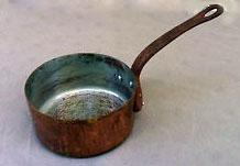 Nettoyer et entretenir casserole en cuivre