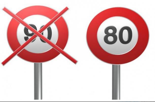 Abaissement des limitations de vitesses sur RN