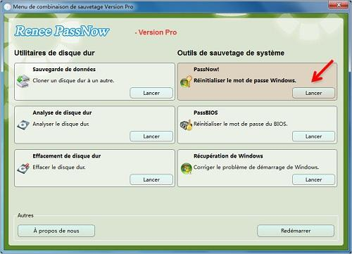 reinitialiser le mot de passe windows 8 oublie 2