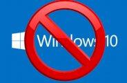 Annuler la mise à jour windows 10