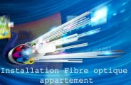 Installation fibre optique appartement
