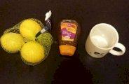 Mal de gorge remède au miel citron