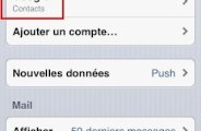 synchroniser ses contacts google avec iphone