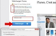 Telecharger et installer itunes