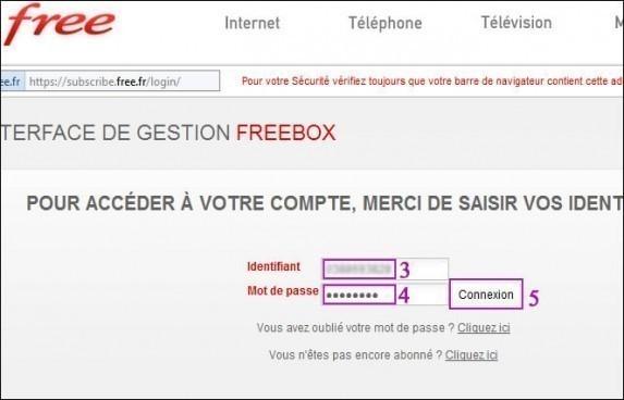 Changer la cle wifi sur freebox et configuration 1
