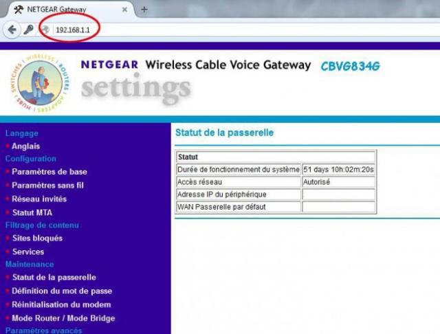 acceder a sa box internet 5