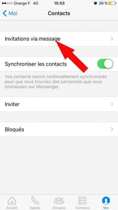 acceder au messages filtres sur facebook messenger 2