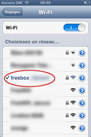 airplay freebox avec iphone 2