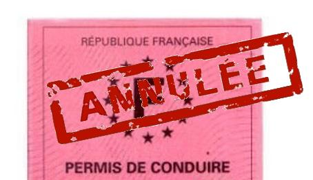 annulation du permis 0